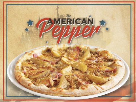 Pizza American Pepper